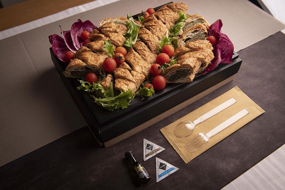 Catering antipasto strudel verdure 02
