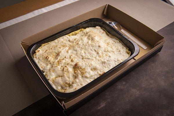 Catering primo lasagna friarielli salsiccia 05
