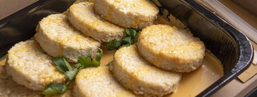Catering primo tortino riso zafferano 05