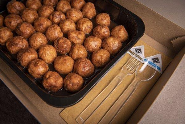 Catering secondo meatballs 06