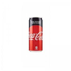 Coca cola zero lattina